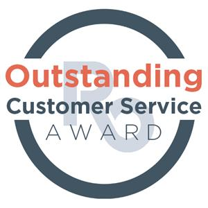 Outstanding Customer Service Award Logo