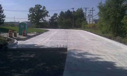 New Concrete Road