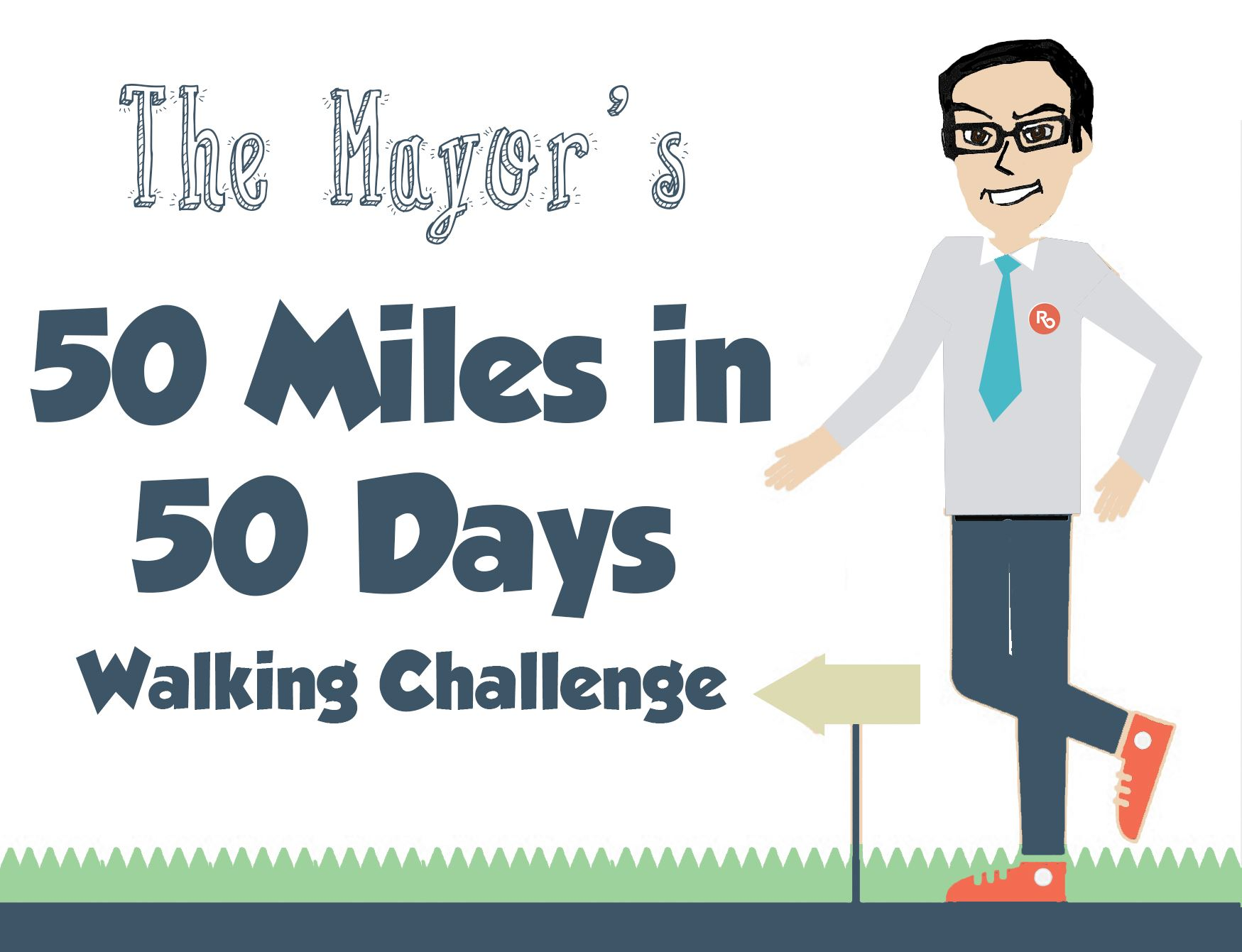 50 Miles in 50 Days