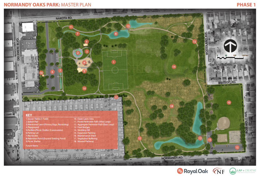 Normandy Oaks Phase 1 Plan