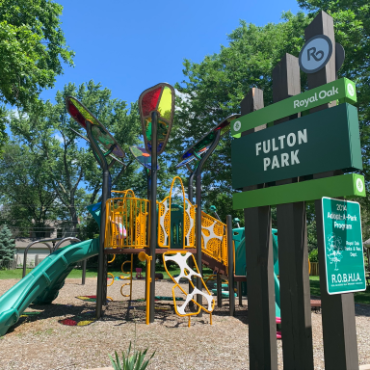 Fulton Park in Royal Oak