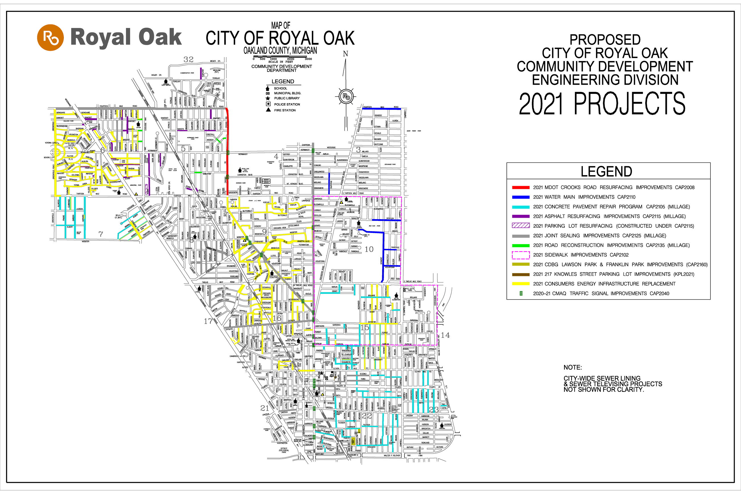 2021 project map
