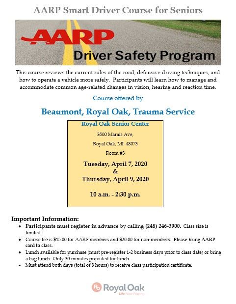 AARPSmartDriverclassflyer2020_Yellowbox